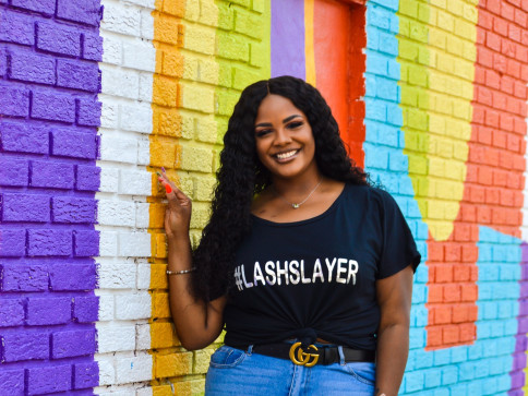 (runs true to size) Lashslayer Tee